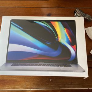 New unopened Space Gray 3 W ! 2019 16in MacBook Pro 2.4 I9 8c /64gb ram512 ssd free all day for Sale in Seattle, WA