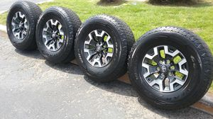 """16"""" STOCK TOYOTA TACOMA TRD WHEELS AND TIRES for Sale in Fontana, CA"""
