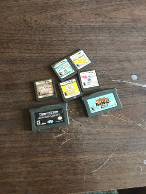 2 GBA & 5 ds games for Sale in San Jose, CA