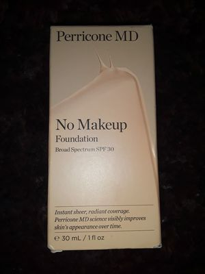 Perricone MD No Makeup Foundation SPF 30 for Sale in Phillips Ranch, CA
