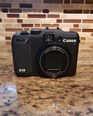 Canon G15 Power Shot for Sale in Atlanta, GA