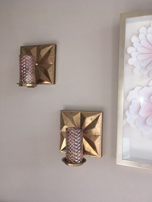 Sconces with candles for Sale in Austin, TX