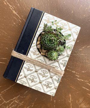 Handmade Local Art: Vintage/Upcycled Book Succulent Arrangements for Sale in Salt Lake City, UT