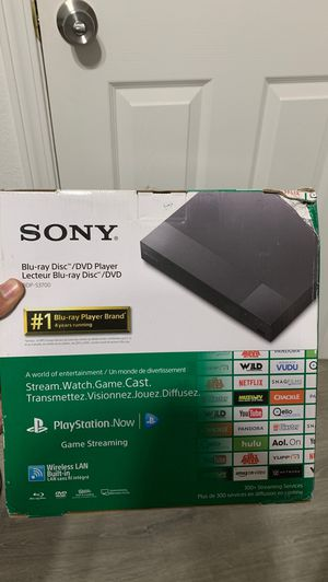 Sony Blu Ray DVD and Stream Player for Sale in Chico, CA