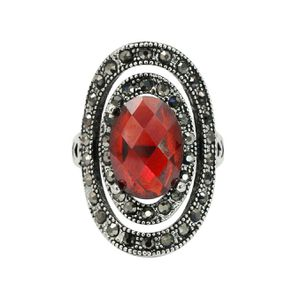 Fashion revolve red crystal ring for Sale in Woodside, CA