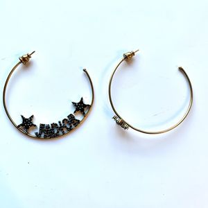 Dior Hoop Round Earrings for Sale in Arcadia, CA