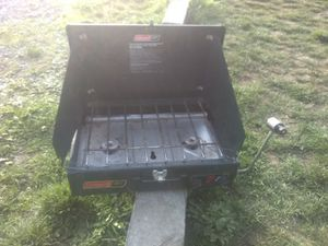 Coleman propane stove 2 burners for Sale in Tacoma, WA