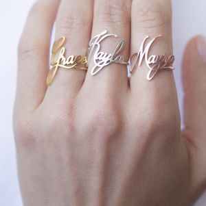Personalized custom name rings for Sale in Apopka, FL