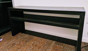 Espresso TV console table for Sale in San Jose, CA