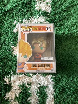 Funko POP Dragonball Z Super Saiyan Goku Metallic for Sale in Everett,  WA