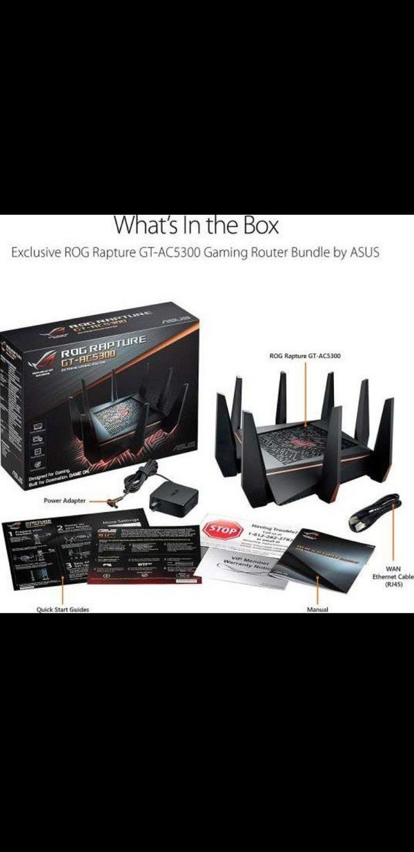 Asus ROG RAPTURE GT - AC5300 gaming router