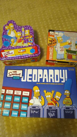 Simpsons Board Games and Puzzle for Sale in Mesa, AZ