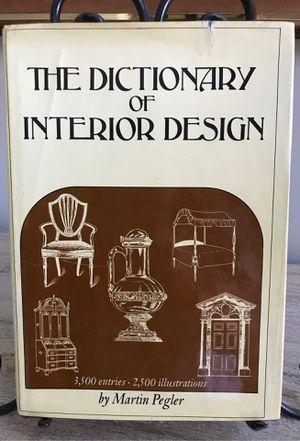 Book/ The Dictionary of Interior Design/ Hardback for Sale in Lexington, SC