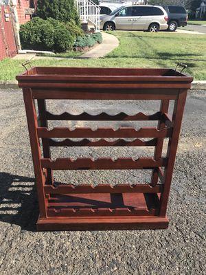 Wine Rack and Server for Sale in Lodi, NJ