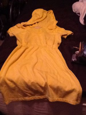 Yellow hoodie mini dress size S for Sale in Kissimmee, FL