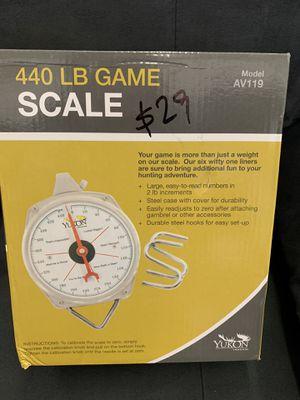 440 LB GAME SCALE for Sale in Norfolk, VA