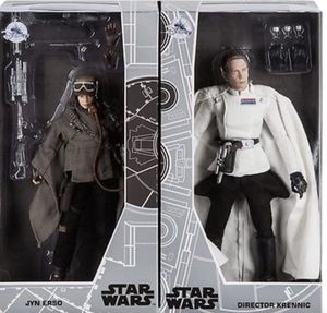 New Disney D23 Exclusive Star Wars JYN ERSO & DIRECTOR KRENNIC for Sale in Hayward, CA