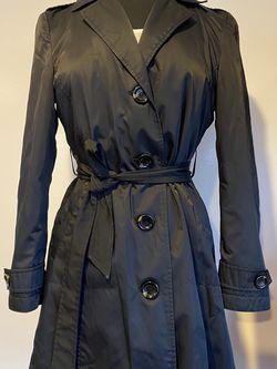 Michael Kors black rain coat, size PS for Sale in Palm Harbor,  FL