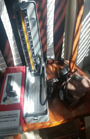 Majestic Mercurial Sphygmomanometer/Blood Pressure Monitor for Sale in Germantown, MD