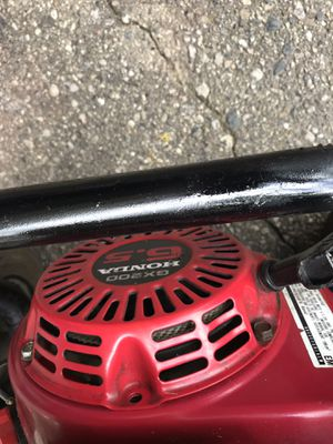 Honda pressure washer with brand new pump over 3000 PSI works great for Sale in Waterford Township, MI