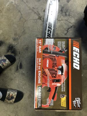 "ECHO CHAINSAW 16"" for Sale in Ontario, CA"