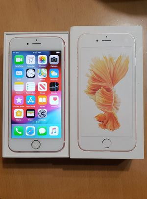 Iphone 6s, gold rose, 64 gb. Unlock for any carrier, work perfect, mint condition. for Sale in Lilburn, GA
