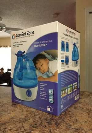 COMFORT ZONE: Portable Ultrasonic Humidifier CZHD24 for Sale in Tampa, FL