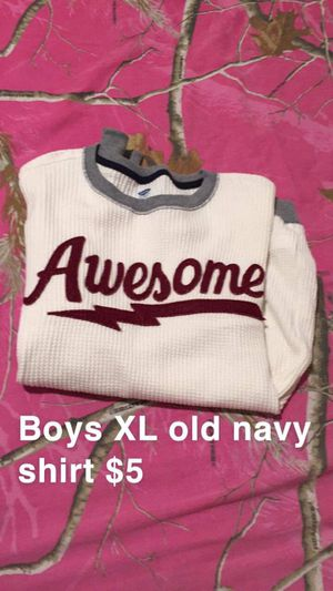 Boys XL old navy shirt brand new now $3 for Sale in Leeds, AL