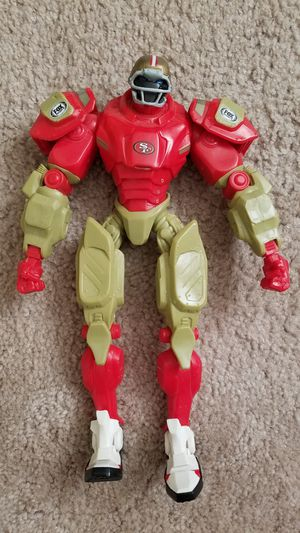 SF 49ers Fox Sports Cleatus the Robot Action Figure for Sale in Ceres, CA