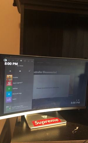 Curved Monitor (read details) for Sale in Grove City, OH
