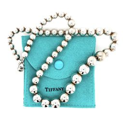 Tiffany And Co. Graduated Ball Necklace for Sale in Brandywine,  MD