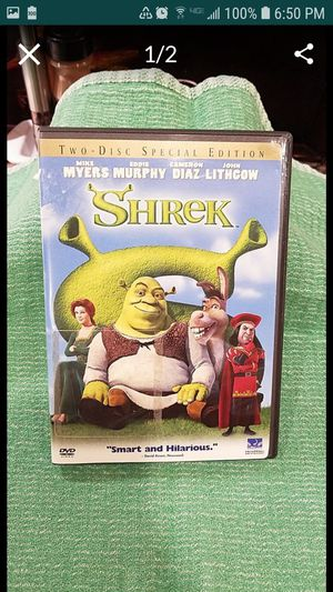 SHREK DVD. 2 DISC DVD. NEW. for Sale in Upland, CA