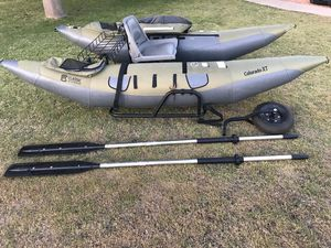 Fly fishing inflatable pontoon boat for Sale in Chandler, AZ