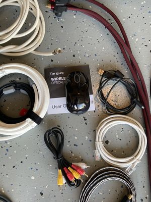 Computer accessories and assorted power cables for Sale in Stuart, FL