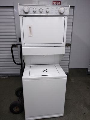 Whirlpool heavy duty 27 inch washer and dryer works good 2yr warranty for Sale in District Heights, MD