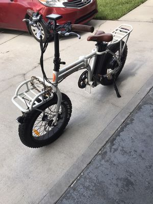 Rad Mini Folding Fat Tire Electric Bike for Sale in Clermont, FL