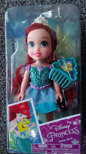 DISNEY PRINCESS ARIEL DOLL NEW TOYS $15 ✔✔✔PRICE IS FIRM✔✔✔ for Sale in Bell Gardens, CA