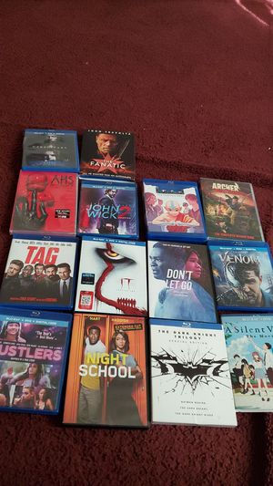 Hereditary, The Fanatic, American horror story the complete 8th season, John wick 2,avatar the complete series, for Sale in Richmond, CA