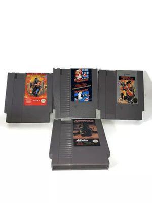 Lot Of 4Super Mario Bros/Duck Hunt,Ninja Gaiden ,Rush'n Attack& AirWolf Nintendo for Sale in Los Angeles, CA