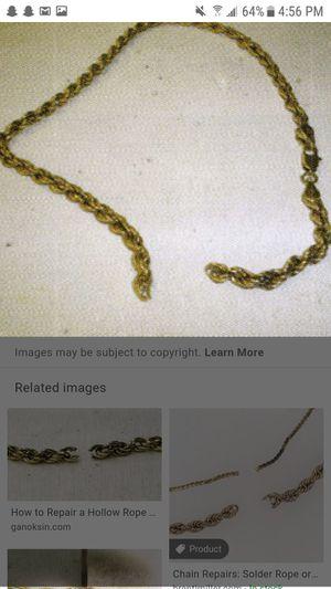 10k Gold bracelet - Rope for Sale in Kent, WA