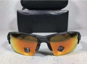 New Oakley Flak Camo Prizm Ruby Sunglasses for Sale in Winchester, CA