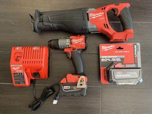 Milwaukee 18v FUEL 2 tool set for Sale in Scottsdale, AZ