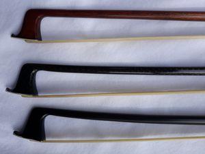 Violin Bows Carbon Fiber/Fiber Pernambuco for Sale in Clearwater, FL
