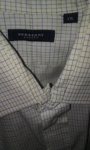 Mens Burberry Button Down Long Sleeved for Sale in Phoenix, AZ