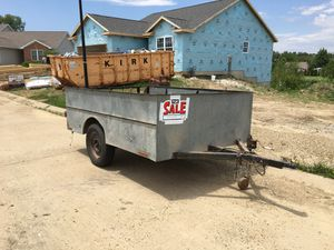 Open Hard Side Utility Trailer for Sale in Normal, IL
