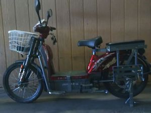 Electric bike new battery 72 v 20 am 70 distance. for Sale in Phoenix, AZ