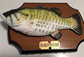 Gemmy Big Mouth Billy Bass The Singing Sensation for Sale in Wichita, KS