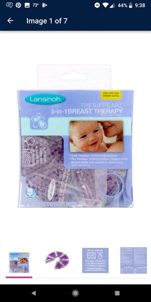 Lansinoh breast therapy for Sale in Kingsport, TN