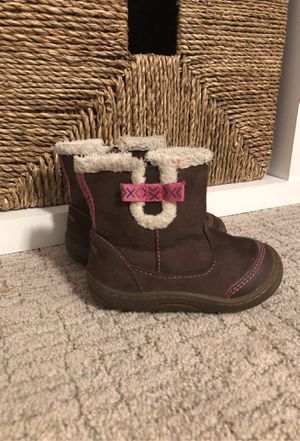 Stride rite girls toddler boots size 4 for Sale in Littleton, CO