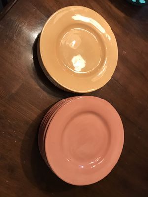 "Pottery Barn large plates and bowls 13 bowls and 13 12"" plates for Sale in Atlantic Highlands, NJ"